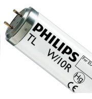 PHILIPS TL 100W/10-R G13 T12 ATTINICO 1800 MM UV-A BLACK LIGHT CON RIFLETTORE